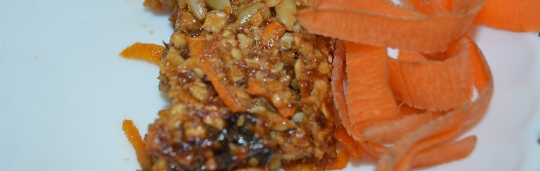 Healthy Carrot Cake Cereal Bars
