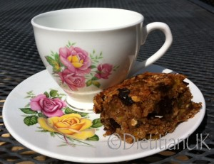 Dietitian UK: Greengage Flapjack