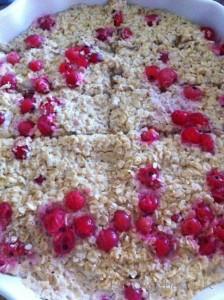 Dietitian UK: Fruity Porridge Fingers Cooked