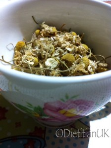Dietitian UK: Loose leaf Camomile Tea