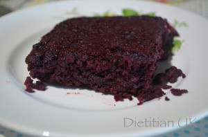 Dietitian UK: Healthier Chocolate, Beetroot Brownies