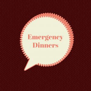 Dietitian UK: Emergency Dinners