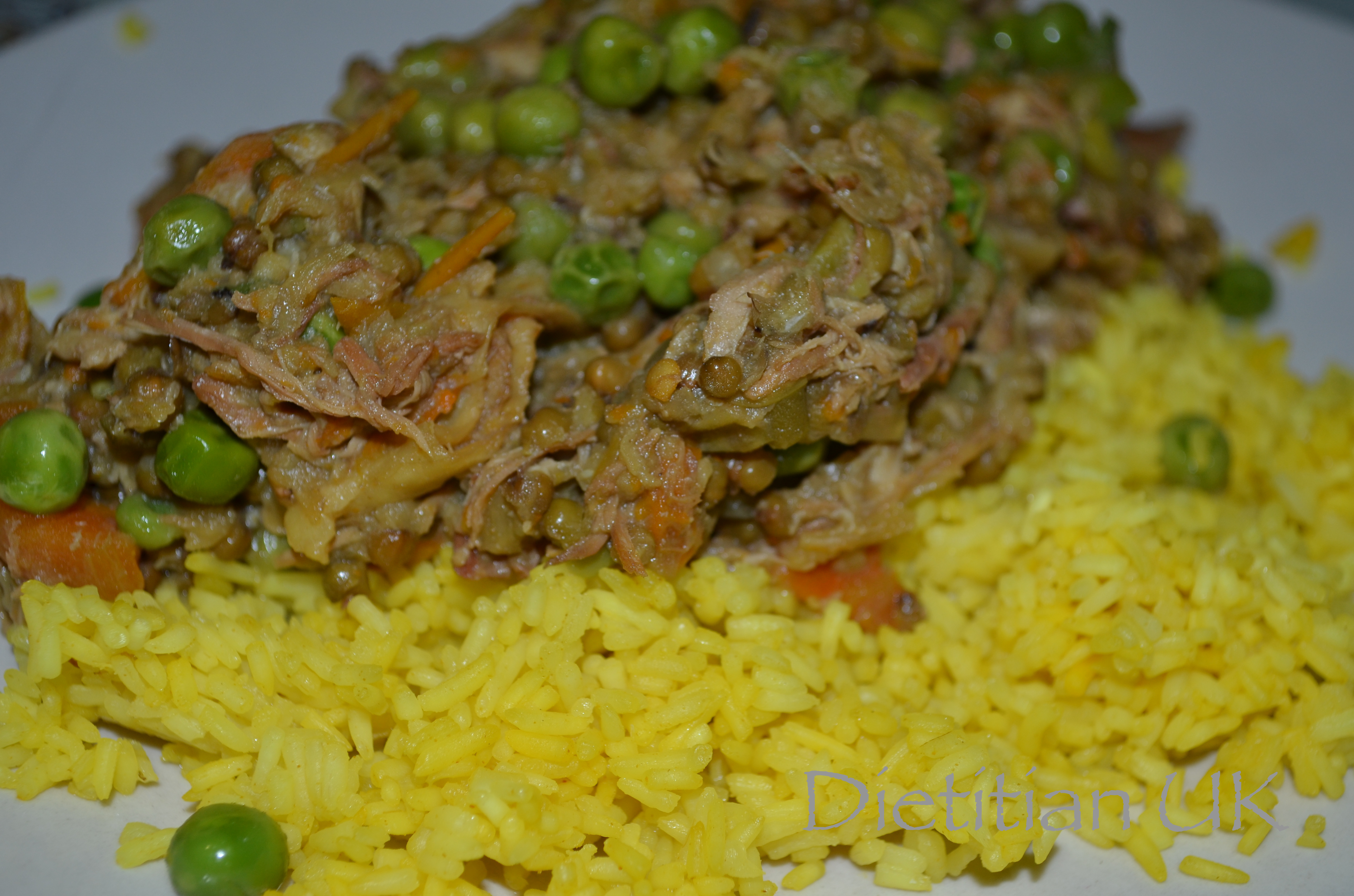 Dietitian UK: Chicken and Mung Bean Curry 1