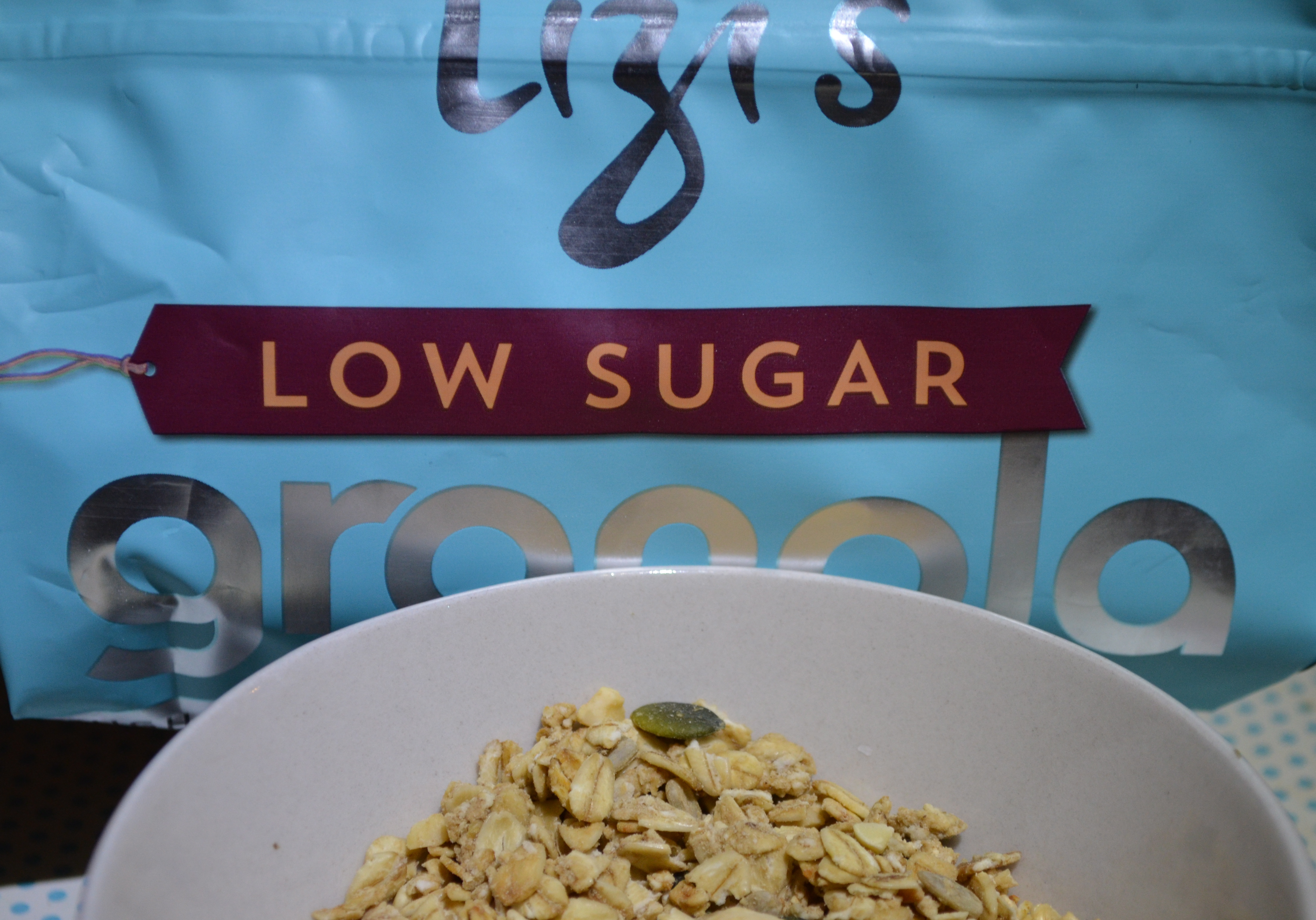 Dietitian UK: Lizi's Low Sugar Granola Review