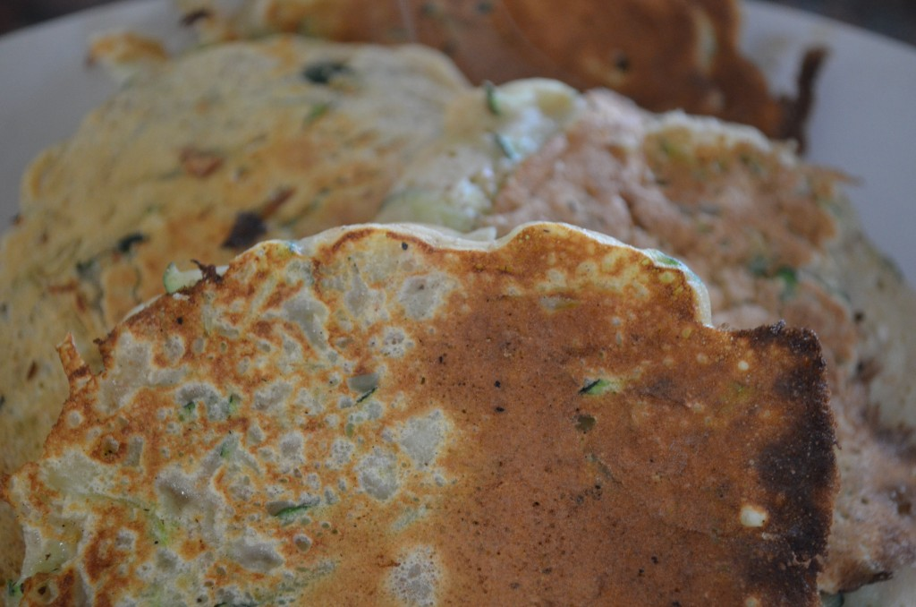 Dietitian UK: Courgette Pancakes