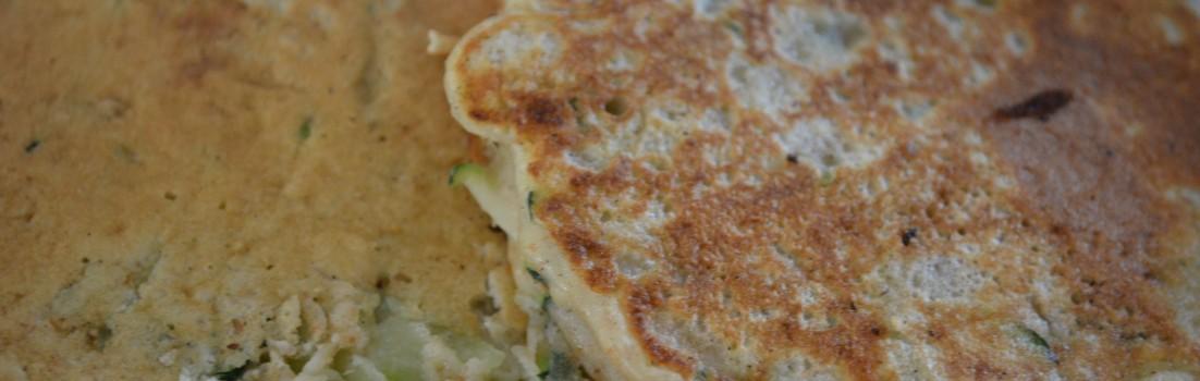 Courgette Pancakes (WF/GF)