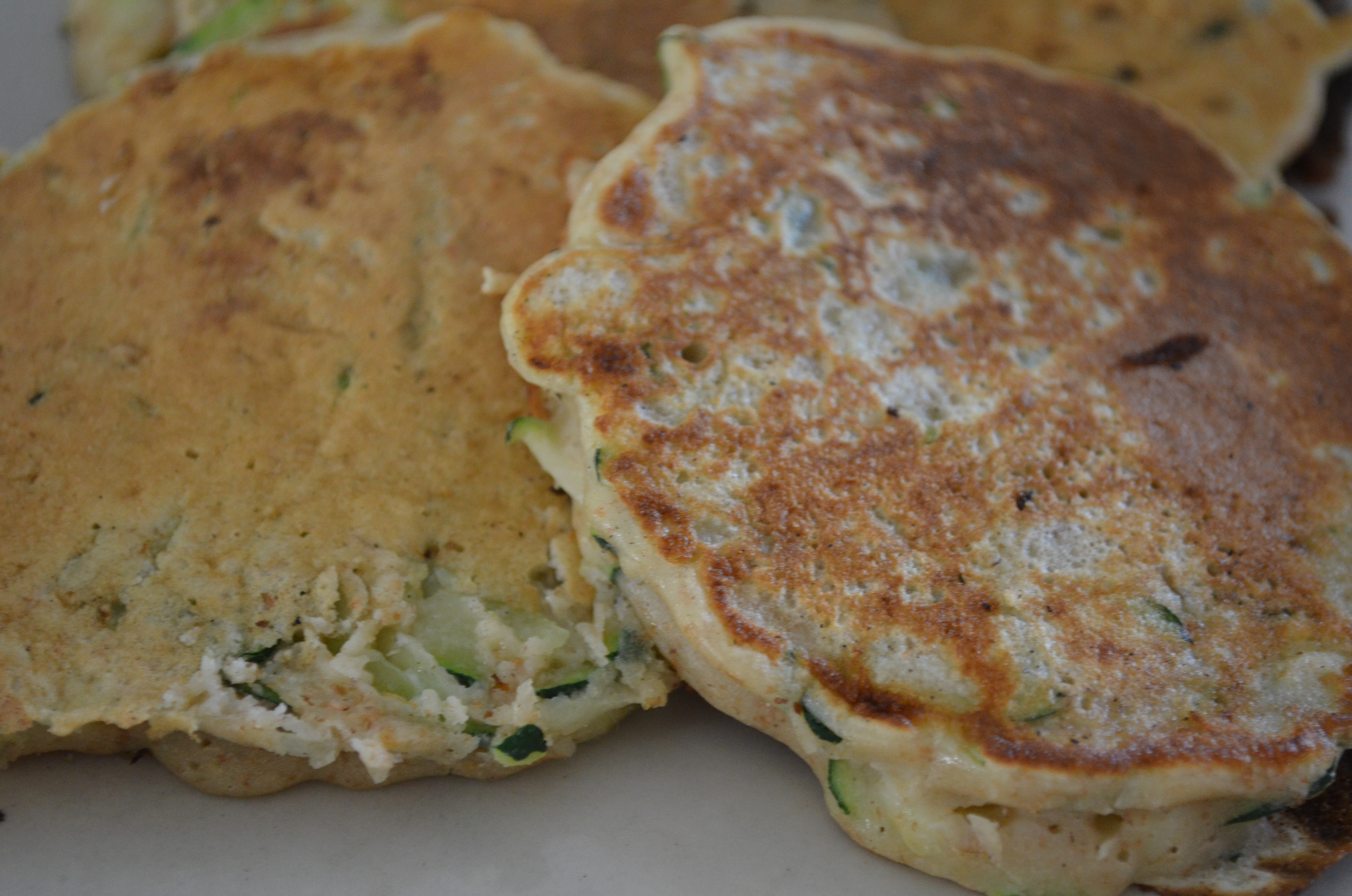 Courgette Pancakes (WF/GF)
