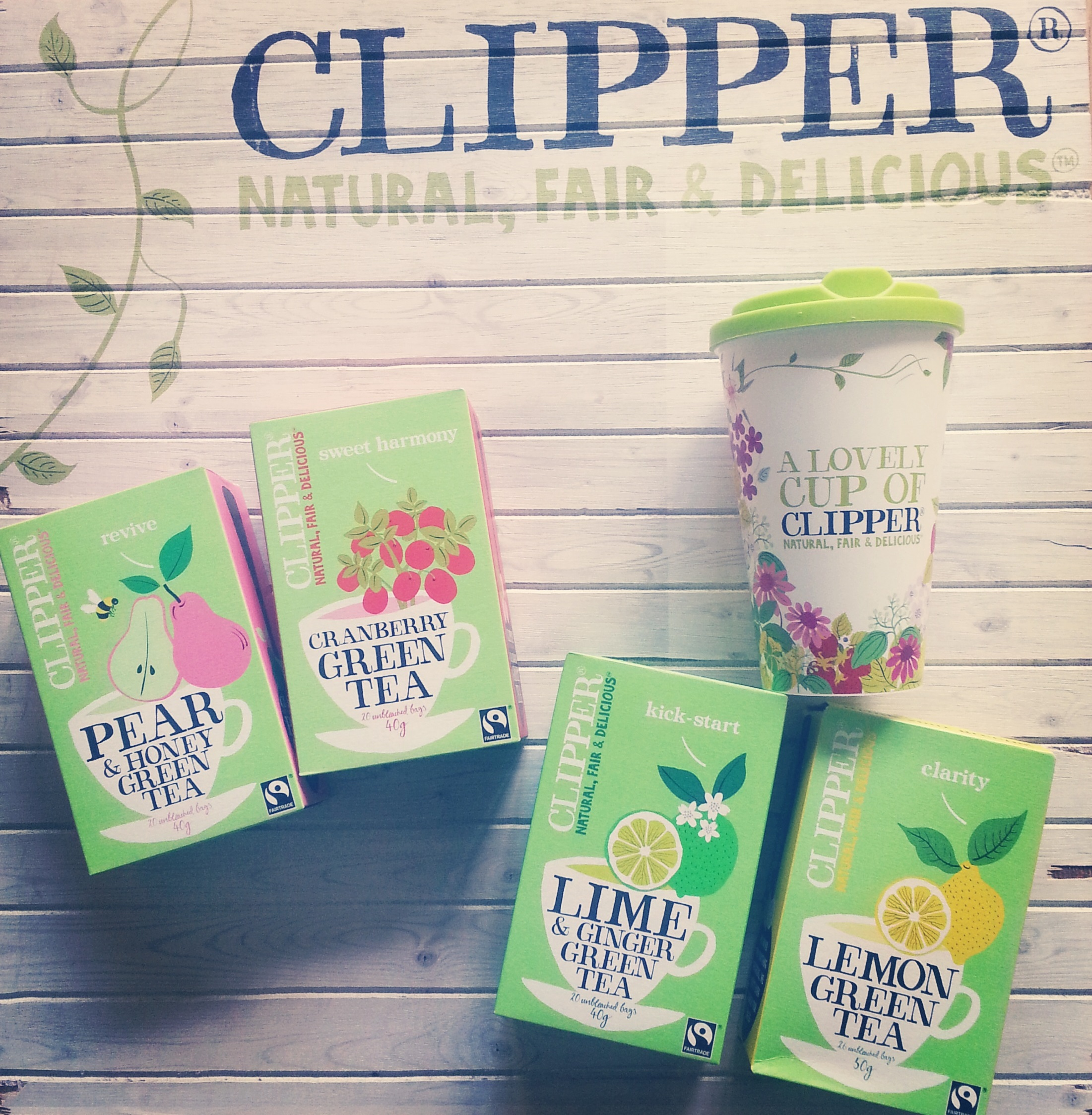 Dietitian UK: Win a years suppler of Tea - Clipper prize