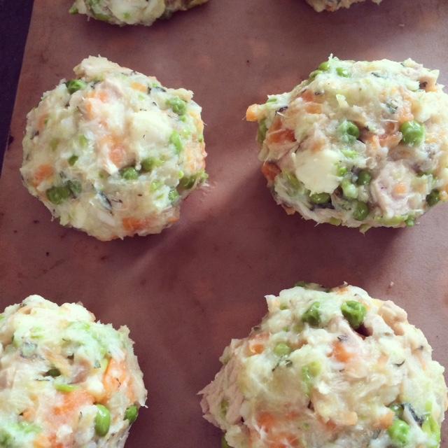 Dietitian UK: Tuna and Vegetables Fishcake1