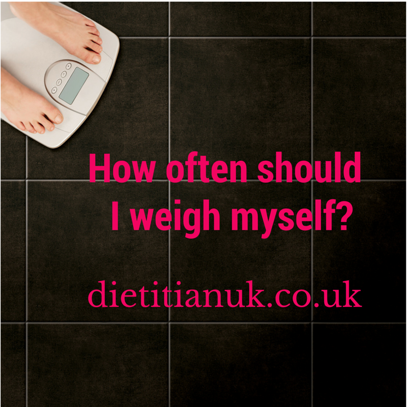 Dietitian UK: How often should I weigh myself?