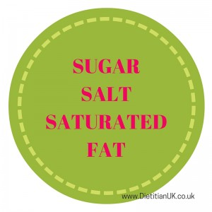 Dietitian UK: Sugar.Salt.SatFat