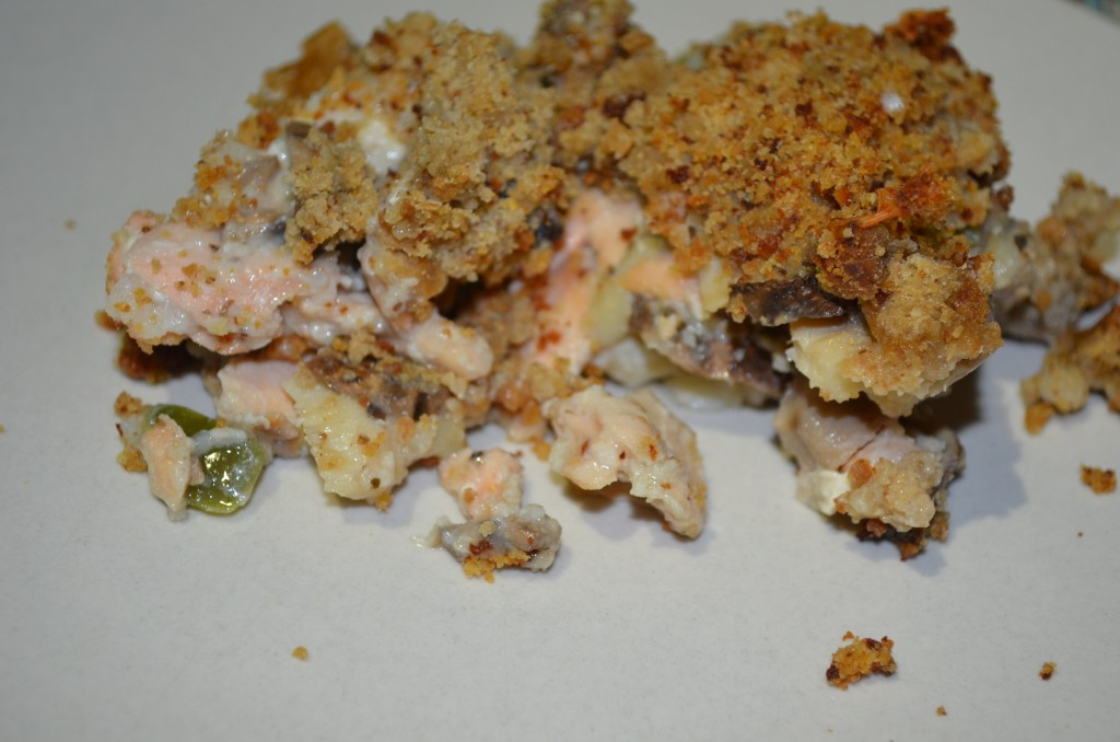 Dietitian UK: Crunchy Fish Bake