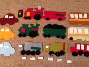 Dietitan UK: Felt trains