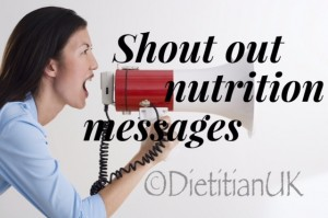 Shoutnutritionmessages