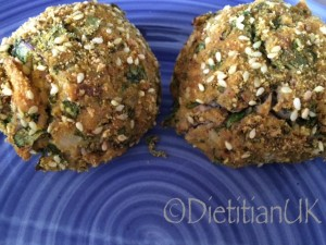 Dietitian UK: Salmon and kale bombs