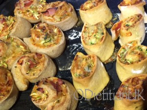 Courgette pinwheels 4