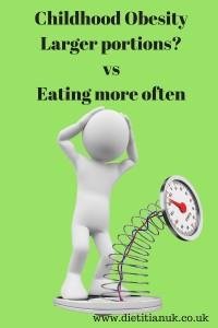 Dietitian UK: Childhood Obesity