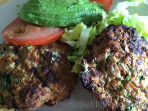 Dietitan UK: Lean and Bean Burgers 1