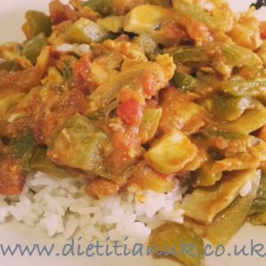 Dietitian UK: Fragrant Fish Curry