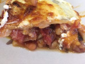 Butternut squash and bean lasagne 2