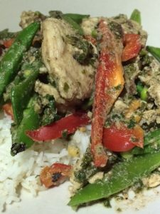 Dietitian UK: Satay chicken stirfry 2