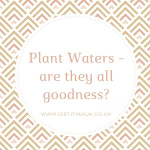 Plant Waters - are they all goodness?