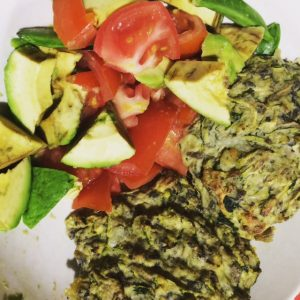 Courgette Patties 2