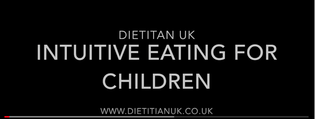 The non-diet approach for children.