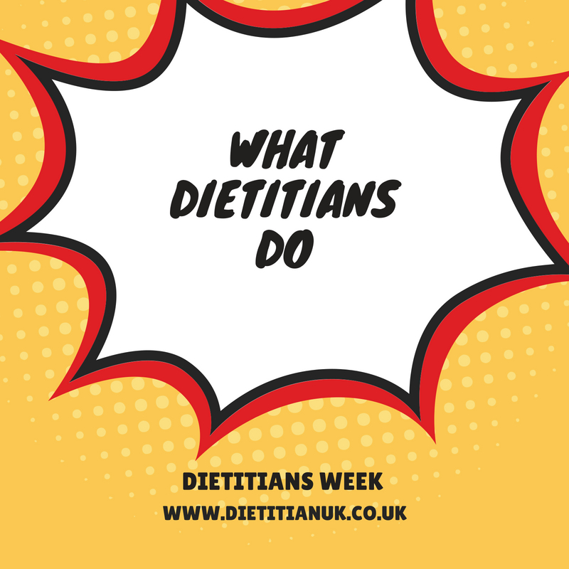 The truth about what dietitians do