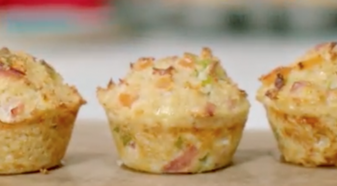 Eat Well for Less: Ham and Cheese Bites