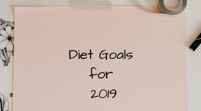 Improve your Diet for 2019