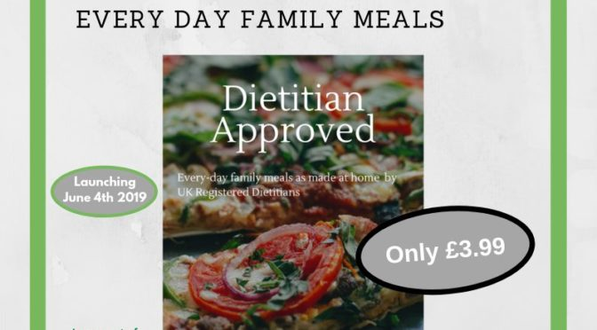 Dietitian Approved – everyday family meals charity recipe book.