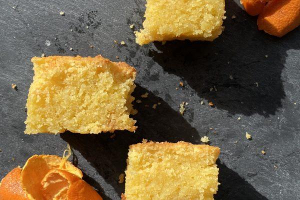 Satsuma Polenta Cake