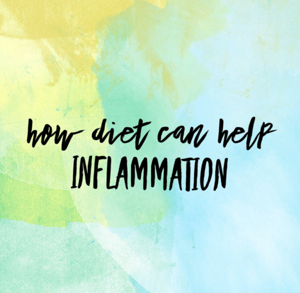 How diet can help inflammation.
